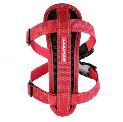EZY CHEST PLATE RED XL