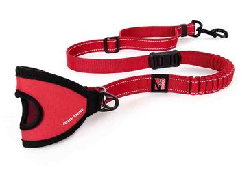 EZY HANDY LEASH RED