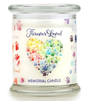 OFA FUREVER LOVED MEMORIAL CANDLE