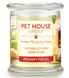 OFA HOLIDAYS FUR ALL CANDLE