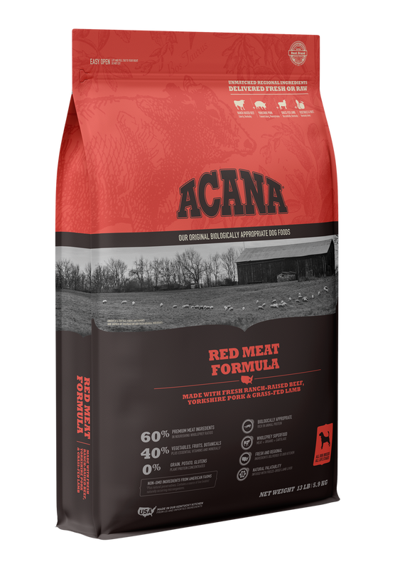 ACANA HERITAGE RED MEATS 25#