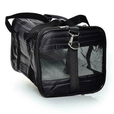 SHERPA BAG MD BLK