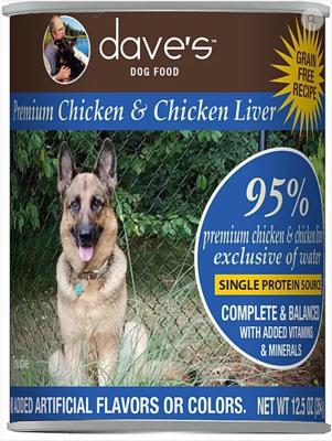 DAVES 95% CHIX/LIVER 13oz