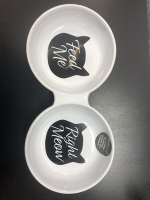 MEOW KITTY DUO DINNER CUP 10