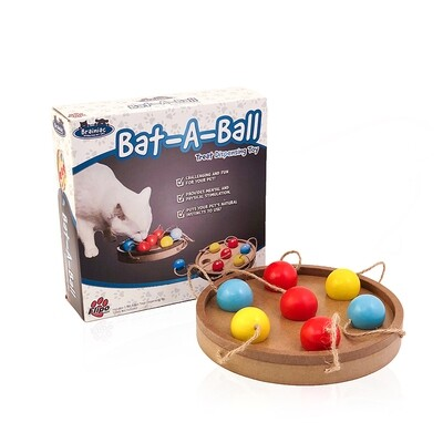FLIPO BRAINIAC BAT-A-BALL PUZZLE TOY