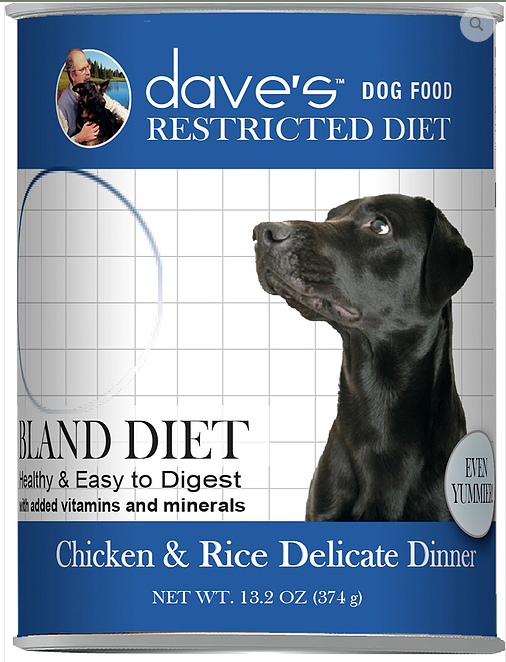 DAVES BLAND CHX/RICE 13OZ