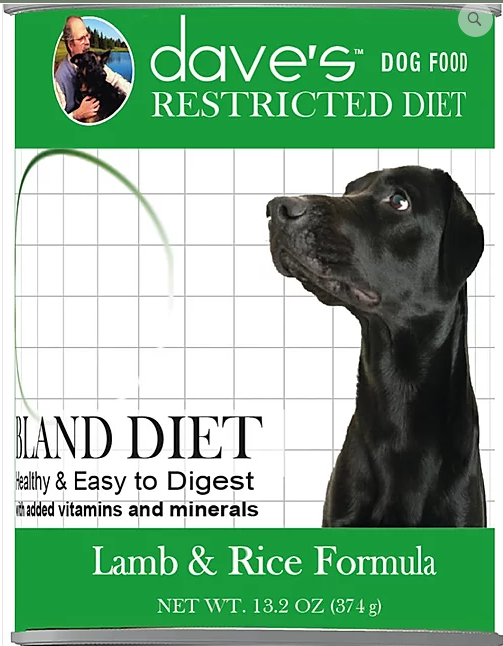 DAVES BLAND LAMB/RICE 13OZ