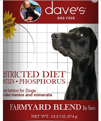 DAVES REN (k/d) PHOSPHORUS DOG 13oz