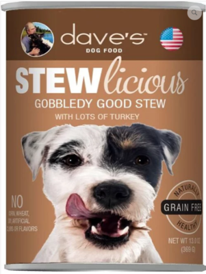 DAVES XXX STEW GOBBLEDY TKY 13oz