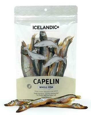 ICELANDIC XXX WHOLE CAPELIN 2.5oz BAG