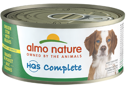 ALMO DOG COMP CHX/POT 5.5oz
