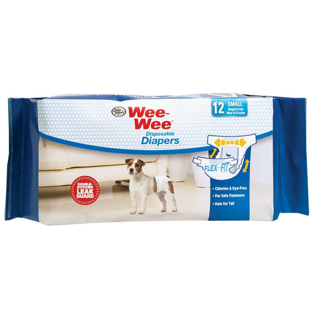 WEE WEE DISP DIAPER SM 12pk