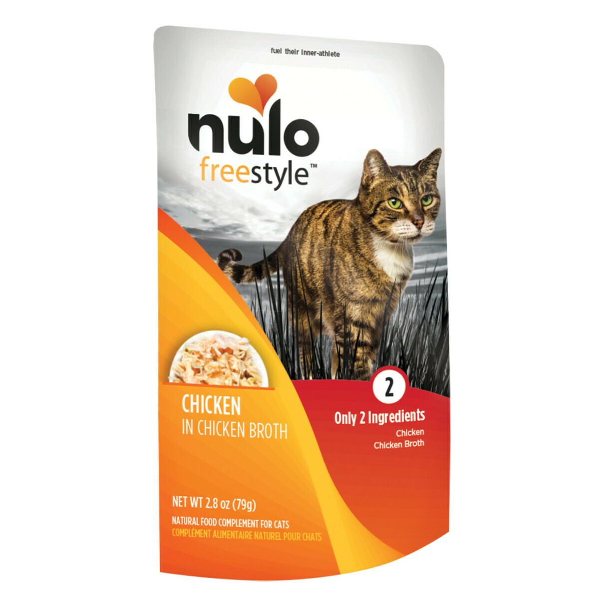 NULO XXX CAT CHX/BROTH 2.8oz POUCH