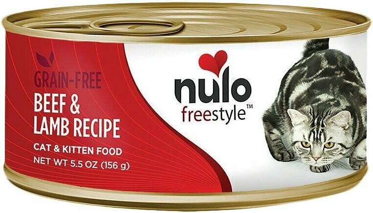 NULO CAT PATE BEEF/LAMB 5.5oz