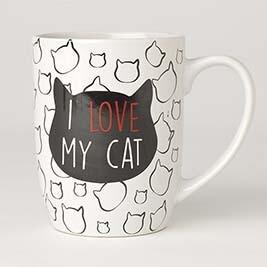 PETRAGEOUS I LOVE MY CAT MUG