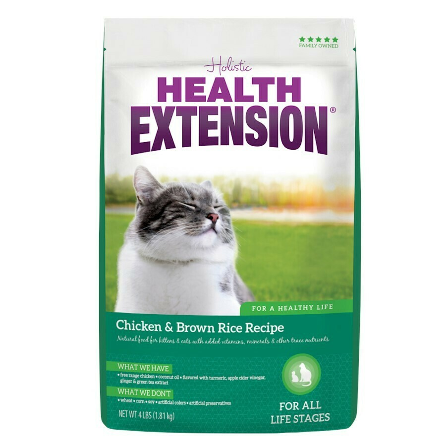 HEALTH EXT XXX CAT CHX/RICE 15#