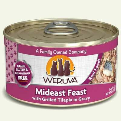WERUVA CAT MIDEAST FEAST 3oz