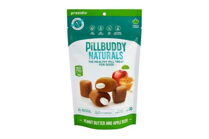 PILL BUDDY PEANUT/APPLE 30CT