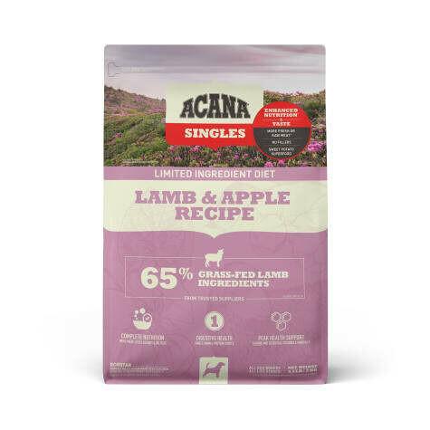ACANA SINGLES LAMB & APPLE 4.4#
