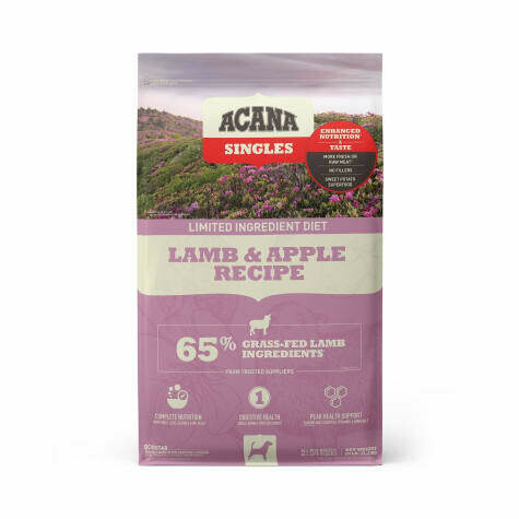 ACANA SINGLES LAMB & APPLE 25#