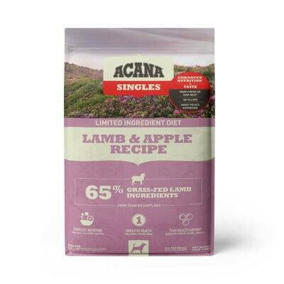 ACANA SINGLES LAMB & APPLE 13#