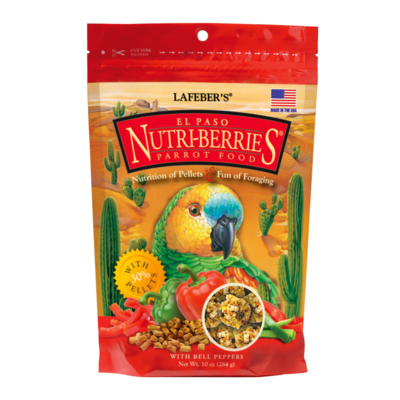 LAFEBER NUTRIBERRIES EL PASO PARROT 10oz