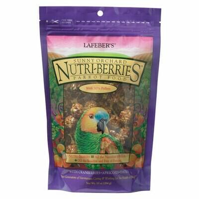 LAFEBER NUTRIBERRIES SUNNY ORCHARD PARROT 10oz