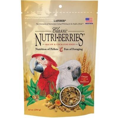 LAFEBER NUTRIBERRY MACAW 10oz