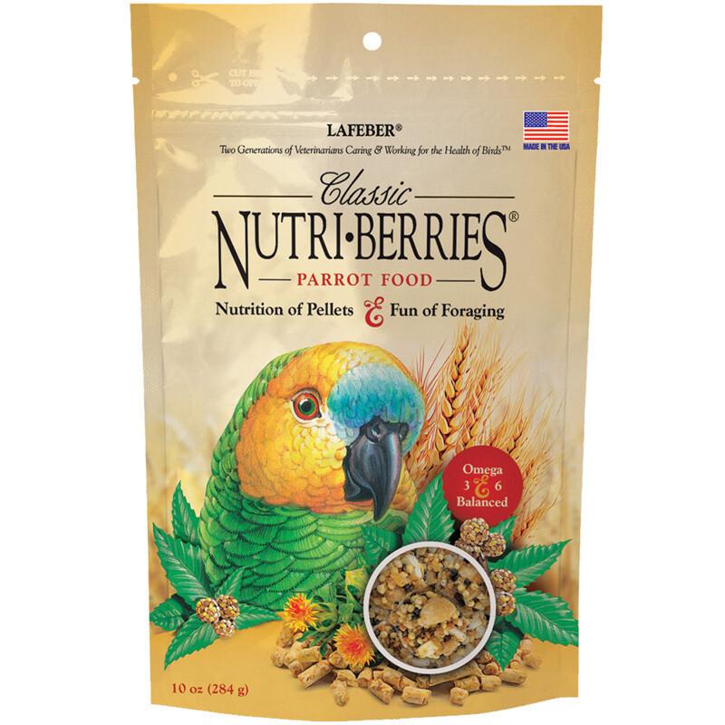 LAFEBER NUTRIBERRY PARROT 10oz