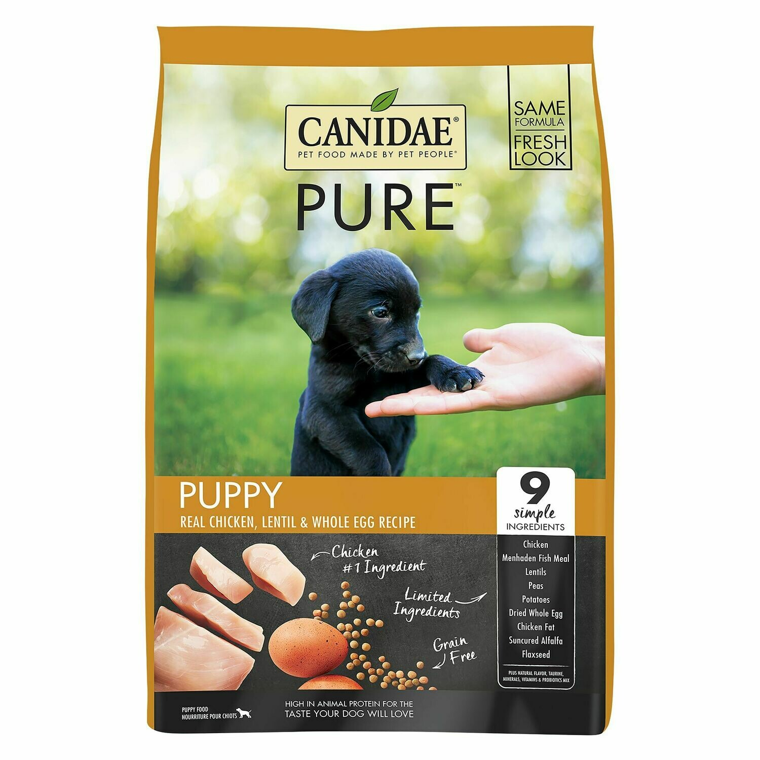 CANIDAE PURE FOUNDATION PUPPY 24#