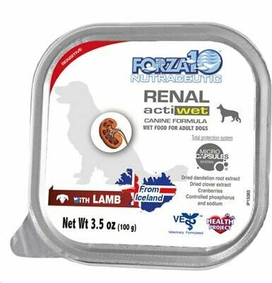 FORZA DOG RENAL LAMB 3.5oz