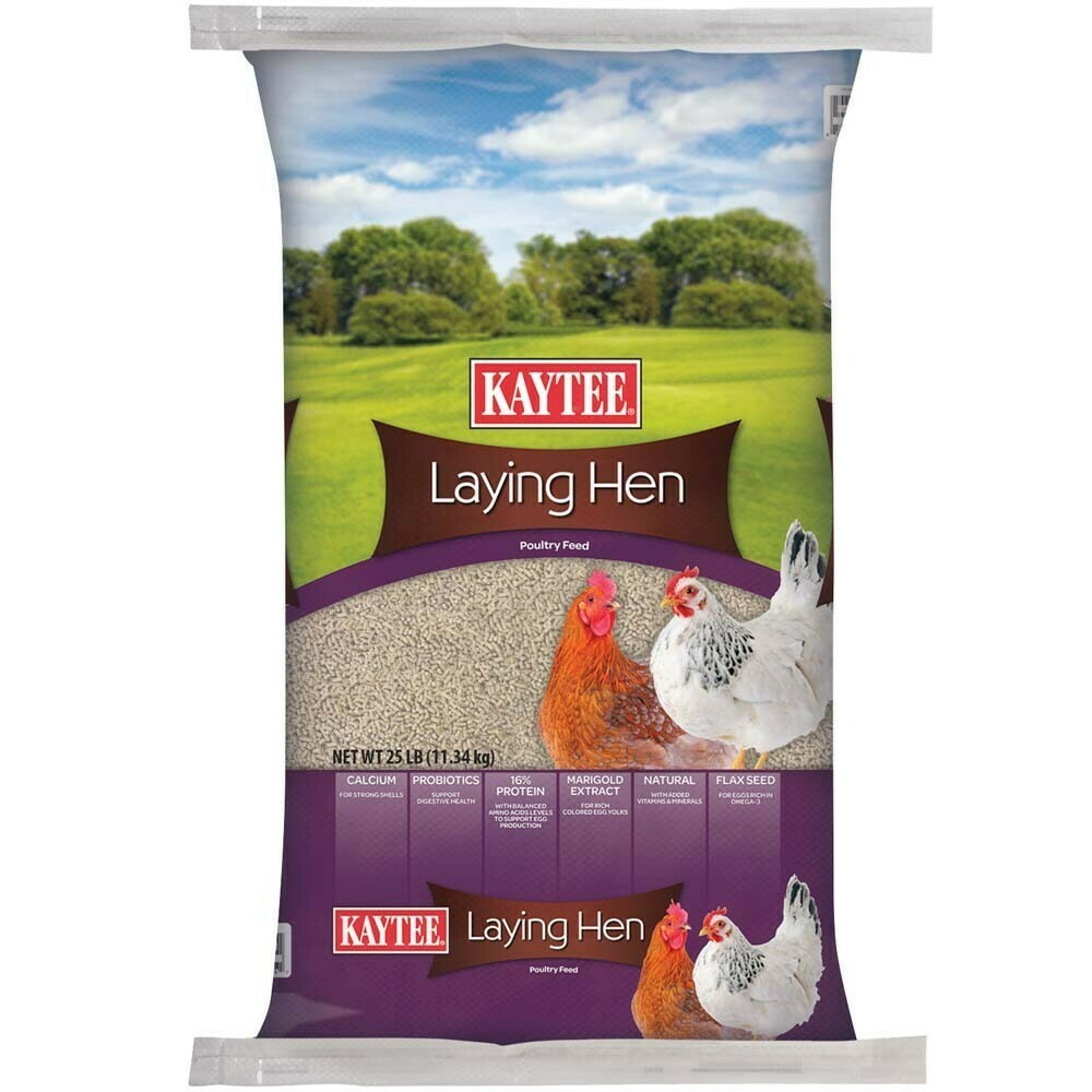 KAYTEE CHICKEN FEED 25#