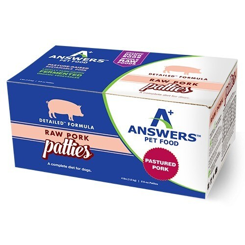 ANSWERS XXX DETAILED PORK PATTIES 4#