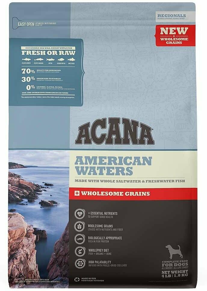 ACANA GRAINS AMERICAN WATERS 11.5#