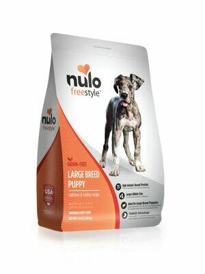 NULO FREE GF PUPPY SAL/TKY LB 4.5#