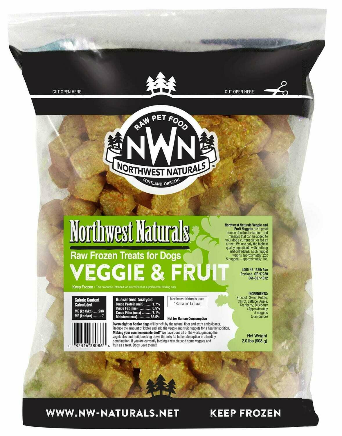 NWN RAW NUGGET FRUIT VEGG 2#