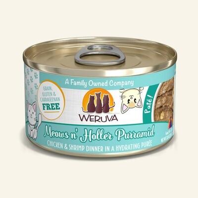 WERUVA CAT CHX/SHRIMP PATE 3oz