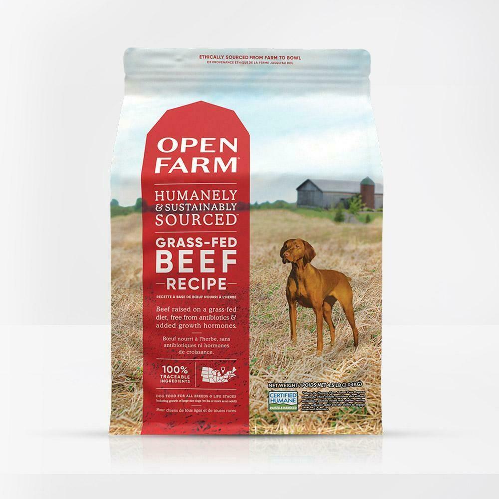 OPEN FARM DOG GF BEEF 24#
