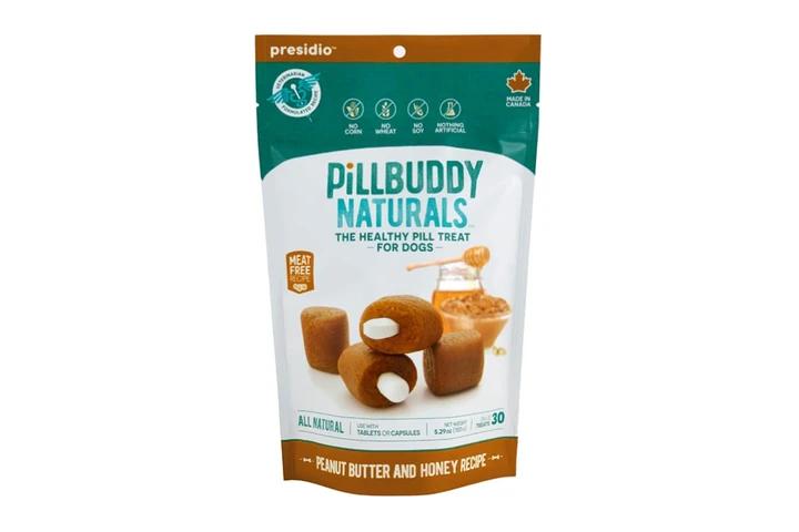 PILL BUDDY PEANUT/HONEY 30ct