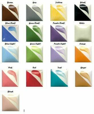 Click here to select colors-up to 5 (1 ounce) paints per piece