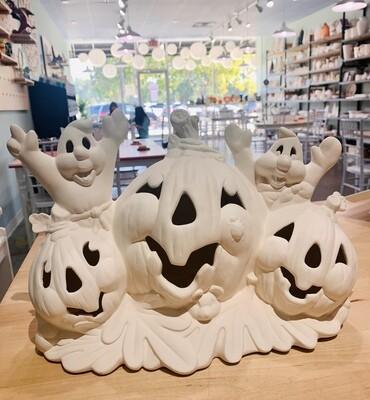 Pumpkins & Ghosts