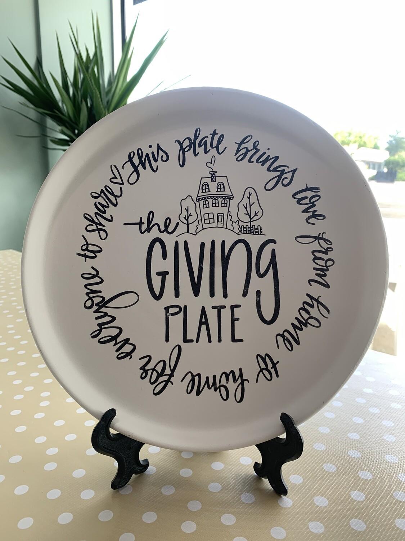 Aspen Giving Plate