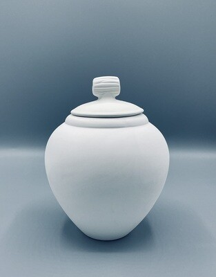 Vase with lid