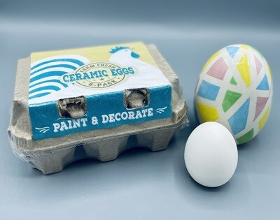 Egg crate with 6 eggs