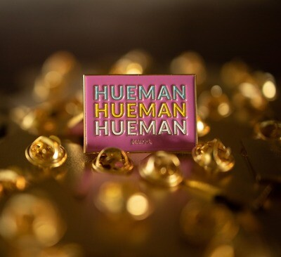 HUEMAN - Soft Enamel Pin