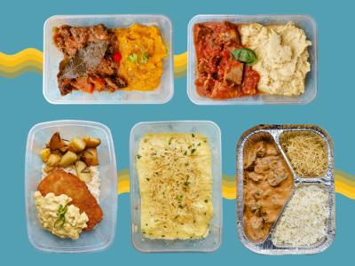 5 meal pack ($12 each)