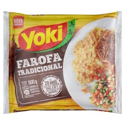 Seasoned Cassava Flour (Farofa Pronta) 500g