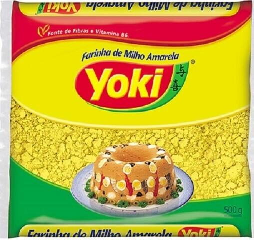 Flaked Corn Flour (Farinha de Milho Amarela Flocada) 500g