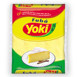 Yellow Corn Flour Fine (Fuba Mimoso) 500g