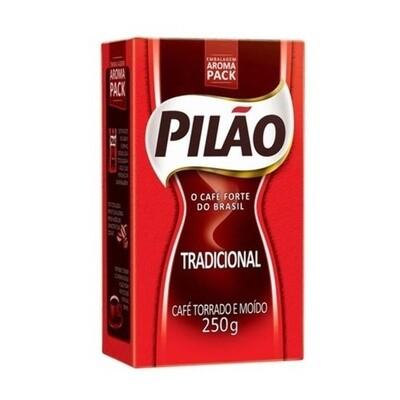 Coffee Ground and Roasted (Cafe Pilao Tradicional) 250g